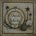 "MARY265 Cherish Yesterday June 12""x12"" framed or unframed art print sheep"