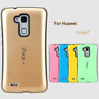 For Huawei mate7 Corlorful Shockproof Gel Hard Slim Case Cover