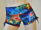 Tie Dye Hot Yoga Shorts Bikram Crossfit Running Pole Fitness Roller Derby
