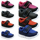 **BOYS GIRLS FANCY VELCRO PUMPS BABIES PARTY TODDLERS INFANTS TRAINERS SHOES