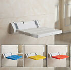 bathroom bench white - Wall Mounted Foldable Stool Bathroom Shower Seat Folding Spa Bench Save Space