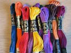 DMC  8MTR STRANDED THREADS PYO COLOURS AND QUANTITY