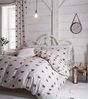 Catherine Lansfield Multi Doily Hearts Fitted Sheet Single, Double And King