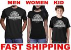 $5 Jurassic World Logo T-Shirt Jurassic Park Logo Tees Adult and kid size S-3XL
