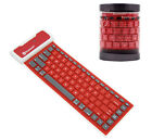 Roll Up Silicon Bluetooth Keyboard For LENOVO YOGA YOGA 2 ASUS Pad LG G Tablet