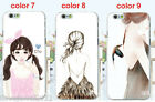 For iPhone4/4S 5/5S 6 /6 plus beautiful Girl hands nail art Back Cover Case Skin