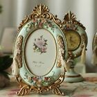 Victorian Style Royal Vinage Look Cameo Rose Resin Photo Frame