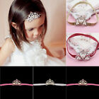 Baby Girls Children Toddlers Princess Queen Crown Tiara Hair Band Hairband
