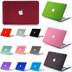 """For Apple Macbook 11"""" 13"""" 15'' Laptop Shell New Matte PC Hard Protect Case Cover"""