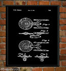 Starship Enterprise Star Trek Chalkboard Art Poster Patent Print Christmas Gift on eBay