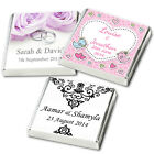 200 Personalised Chocolate Wedding Favours,  Premium Quality & Service FREE POST