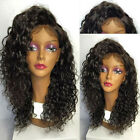 "14""-20"" Deep Curly Full Lace Wig/ Lace Front Wig Indian RemyHuman Hair"