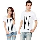 LOVE T Shirts His & Hers MULTIPACK Valentines Printed Tee Top Couples Gift New
