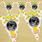 Personalised Unisex Baby Shower Party PHOTO Flag Banner Bunting N34