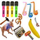 Inflatable Toys Selfie Frame Kids Party Guitar Crocodile Sword Microphone MONKEY