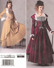 PATTERN tosew SteamPunk dress Simplicity 2172 Victorian 6-22 Industrial Age suit