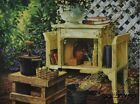 "MH178 Artist's Bench Michael Humphries 12""x16"" framed or unframed print art"