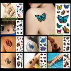 New Hot Lot Style 1PC 3D Fashion Women Men Waterproof Temporary Tattoo Halloween