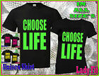CHOOSE LIFE T SHIRT, RETRO 80s, FANCY DRESS, ALL SIZES AVAILABLE