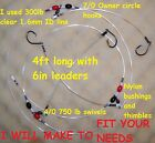 FISHING DEEP DROP RIGS FROM R&R TACKLE OR I WILL MAKE TO FIT YOUR NEEDS ASK ME