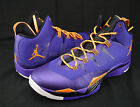 Nike Air Jordan Super Fly 2 Purple Orange Black 599945-517 Mrsp $130