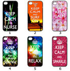 Designer Phone Hard Case Cover Keep Calm Galaxy Colourful Collection 2b