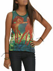 Licensed Disney Bambi Kiss Singlet Tank Muscle Tee Top Pop Culture Shirt Vest