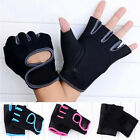 Half Mitt Weight Lifting Safe Gloves Gym Fitness Workout Cycling Driving Hunting