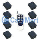 10A DC 6/9/12/24V Wireless Remote Control Kit-1 Transmitter Controls 8 Receivers