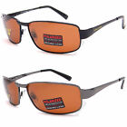 POLARIZED UV400 Eyelevel Sunglasses Brown Copper Driving Mens Unisex Fishing