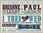 0315 Vintage Music Poster Art Brianne O'Leary paul Gagnon  *FREE POSTERS