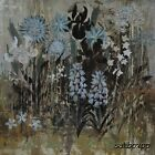 "AR027 Blue Flowers I Alan Hopfensberger 18""x18"" framed or unframed print"