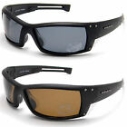 Mens New UV400 Polarized Squared Sport Wrap Around Fishing Biker Sunglasses