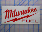 "Milwaukee Tools Fuel Decal Sticker 7.5"" 10"" Sawzall Saw Drill Impact M12 M18"