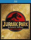 Jurassic Park Ultimate Trilogy 1-3 Blu Ray Complete Box Set Collection 1 2 and 3