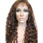 "8""-20"" Deep wave Full Lace Wig India Remy Human Hair ◆◆"