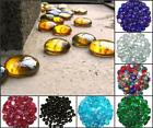 100 Gram (approx 23) Glass Pebbles 20mm Round Stones Nuggets Beads vases STONED®