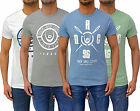 Mens Designer Duck & Cover Fitted T-Shirt Logo Print Tee Crew Neck Top T 4 Style