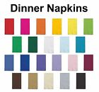 2-ply Paper Dinner Napkins Guest Hand Towels Solid Colors Disposable Buffet