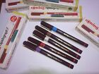 NEW Rotring Rapidograph F (film) Technical Pen in sizes 0.13 0.18 0.25 0.50 0.70