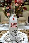 Hello Kitty Cute Handmade Wine Bottle Lamp