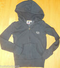 Roxy girl hoodie hooded jacket fleece size 7-8 y NEW hoody navy blue