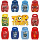 Brand New Top Trumps Card Game - Choose your favourite football packs