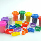 DOUGH CRAFT GIFT SET TUBS & SHAPES 20PC CHILDREN KIDS TOYS XMAS HOBBY CREATIVE