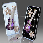 NEW 3D DELUX COOL LUXURY BLING MUSIC DIAMANTE CASE FOR IPHONE SAMSUNG SONY HTC