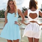 New Women Cocktail dress Party Evening Bandage Mini Dress Summer Beach Skirts