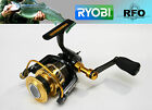 RYOBI ZAUBER CF Fishing Reel Spinning Full metal body and spool, handle carbon