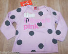 No added sugar baby girl top t-shirt  3-6 m BNWT designer future is pink