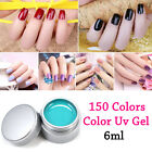 New 150 Pots Pure Colors Cover Extension Manicure Nail Art UV Gel Builder Tips