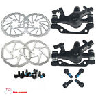 High Quality Bike Mountain Bicycle Front Rear Disc Brake with Rotors 160mm New